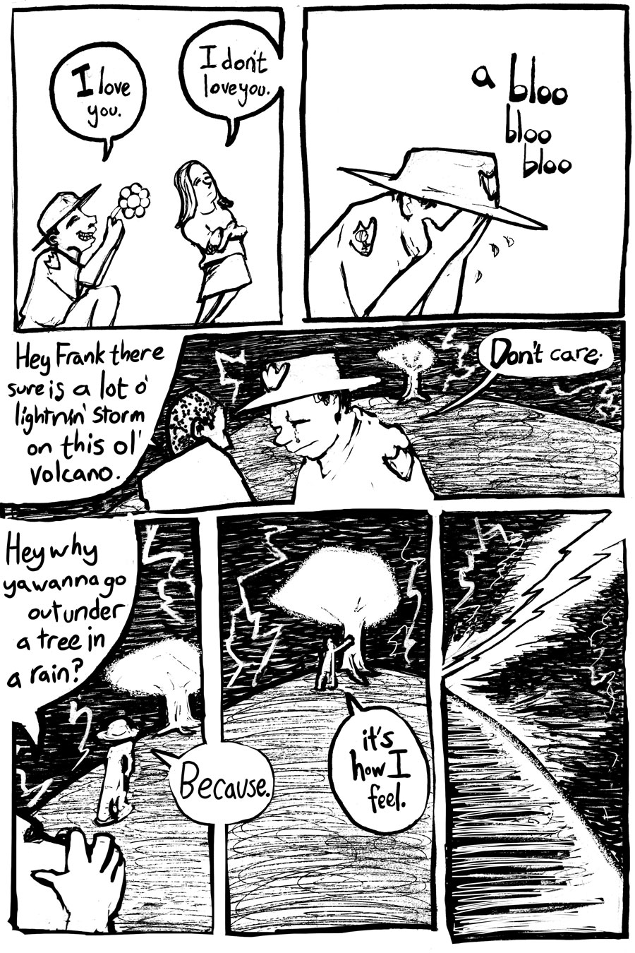 How I Got Struck By Lightning Several Times Page Two