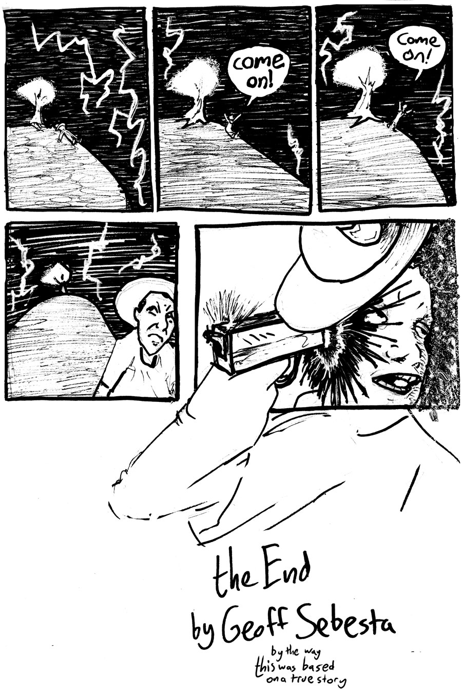 How I Got Struck By Lightning Several Times Page Four